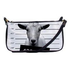 Criminal Goat  Shoulder Clutch Bags by Valentinaart