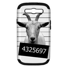 Criminal Goat  Samsung Galaxy S Iii Hardshell Case (pc+silicone) by Valentinaart