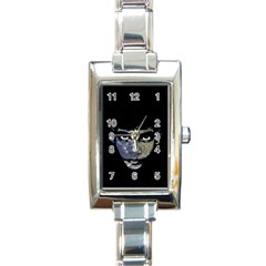 Wild Child  Rectangle Italian Charm Watch by Valentinaart