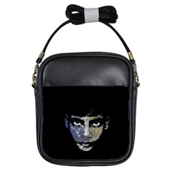 Wild Child  Girls Sling Bags by Valentinaart