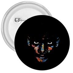 Wild Child  3  Buttons by Valentinaart