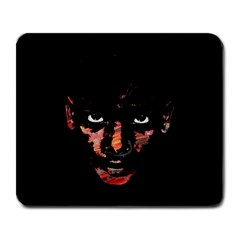Wild Child  Large Mousepads by Valentinaart