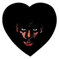 Wild Child  Jigsaw Puzzle (heart) by Valentinaart