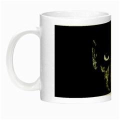 Wild Child  Night Luminous Mugs by Valentinaart