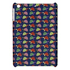 Turtle Pattern Apple Ipad Mini Hardshell Case by Valentinaart