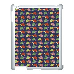 Turtle Pattern Apple Ipad 3/4 Case (white) by Valentinaart