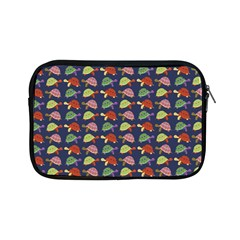 Turtle Pattern Apple Ipad Mini Zipper Cases by Valentinaart