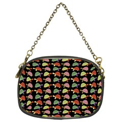 Turtle Pattern Chain Purses (one Side)  by Valentinaart