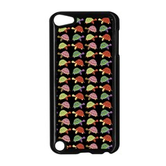 Turtle Pattern Apple Ipod Touch 5 Case (black) by Valentinaart