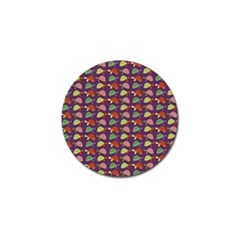 Turtle Pattern Golf Ball Marker (10 Pack) by Valentinaart