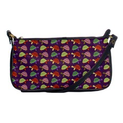 Turtle Pattern Shoulder Clutch Bags by Valentinaart