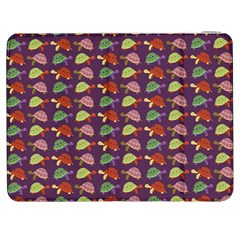 Turtle Pattern Samsung Galaxy Tab 7  P1000 Flip Case by Valentinaart
