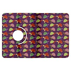 Turtle Pattern Kindle Fire Hdx Flip 360 Case by Valentinaart