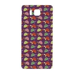 Turtle Pattern Samsung Galaxy Alpha Hardshell Back Case by Valentinaart