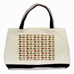 Turtle Pattern Basic Tote Bag by Valentinaart