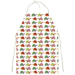 Turtle Pattern Full Print Aprons by Valentinaart