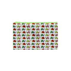 Turtle Pattern Cosmetic Bag (xs) by Valentinaart