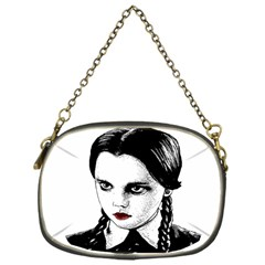 Wednesday Addams Chain Purses (one Side)  by Valentinaart