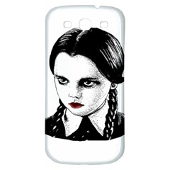 Wednesday Addams Samsung Galaxy S3 S Iii Classic Hardshell Back Case by Valentinaart