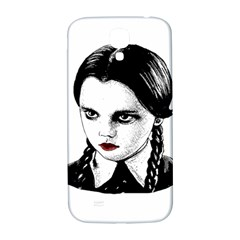 Wednesday Addams Samsung Galaxy S4 I9500/i9505  Hardshell Back Case by Valentinaart