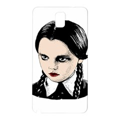 Wednesday Addams Samsung Galaxy Note 3 N9005 Hardshell Back Case by Valentinaart