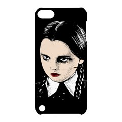 Wednesday Addams Apple Ipod Touch 5 Hardshell Case With Stand by Valentinaart