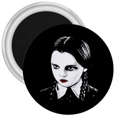 Wednesday Addams 3  Magnets