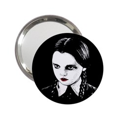 Wednesday Addams 2 25  Handbag Mirrors by Valentinaart