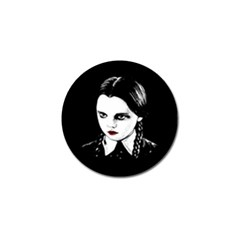 Wednesday Addams Golf Ball Marker (4 Pack) by Valentinaart