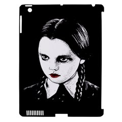 Wednesday Addams Apple Ipad 3/4 Hardshell Case (compatible With Smart Cover) by Valentinaart