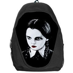 Wednesday Addams Backpack Bag by Valentinaart