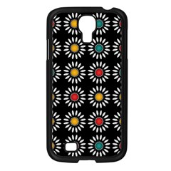 White Daisies Pattern Samsung Galaxy S4 I9500/ I9505 Case (black) by linceazul