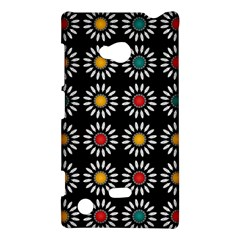 White Daisies Pattern Nokia Lumia 720 by linceazul