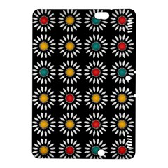 White Daisies Pattern Kindle Fire Hdx 8 9  Hardshell Case by linceazul