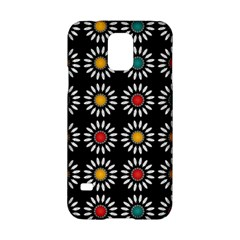 White Daisies Pattern Samsung Galaxy S5 Hardshell Case  by linceazul