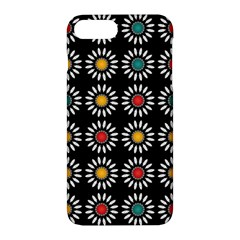 White Daisies Pattern Apple Iphone 7 Plus Hardshell Case by linceazul