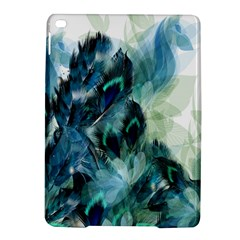 Flowers And Feathers Background Design Ipad Air 2 Hardshell Cases by TastefulDesigns