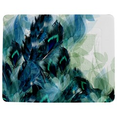 Flowers And Feathers Background Design Jigsaw Puzzle Photo Stand (rectangular) by TastefulDesigns