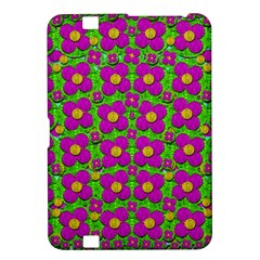 Bohemian Big Flower Of The Power In Rainbows Kindle Fire Hd 8 9  by pepitasart