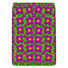 Bohemian Big Flower Of The Power In Rainbows Flap Covers (l)  by pepitasart