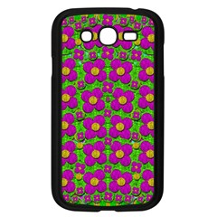 Bohemian Big Flower Of The Power In Rainbows Samsung Galaxy Grand Duos I9082 Case (black) by pepitasart