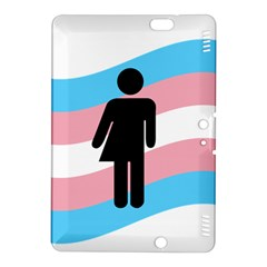 Transgender  Kindle Fire Hdx 8 9  Hardshell Case by Valentinaart