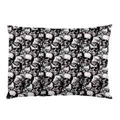 Skulls Pattern  Pillow Case by Valentinaart