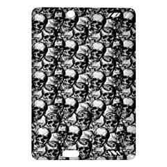 Skulls Pattern  Amazon Kindle Fire Hd (2013) Hardshell Case by Valentinaart