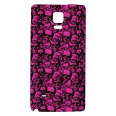 Skulls Pattern  Galaxy Note 4 Back Case by Valentinaart