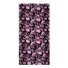 Skulls Pattern  Shower Curtain 36  X 72  (stall)  by Valentinaart