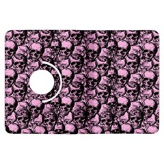 Skulls Pattern  Kindle Fire Hdx Flip 360 Case by Valentinaart