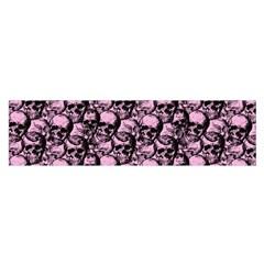 Skulls Pattern  Satin Scarf (oblong) by Valentinaart