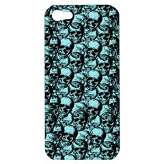 Skulls Pattern  Apple Iphone 5 Hardshell Case by Valentinaart