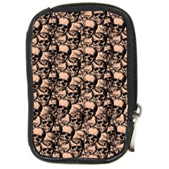 Skulls Pattern  Compact Camera Cases by Valentinaart